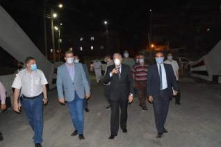 محافظ المنيا يتابع إنهاء أعمال إحلال وتجديد كوبري المنصورة القديم