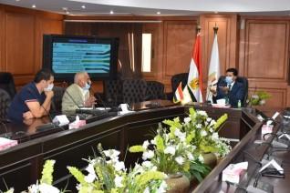 وزير الرياضة يناقش استعدادات استضافة مصر لبطولة العالم لكرة اليد مع اللجنة المنظمة