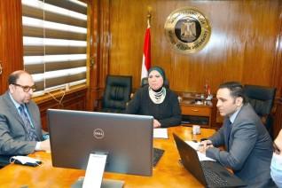 وزيرة التجارة والصناعة تشارك بفعاليات الملتقى السنوي للإستثمار بدولة الامارات العربية المتحدة