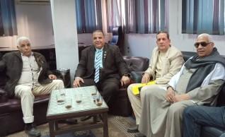 سعيد البر يهنئ الرئيس السيسي بذكرى ثورة 30 يونيو