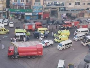 مصرع 7 مرضى كورونا في حريق مستشفى خاص فى الإسكندرية