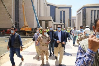 وزير القوى العاملة يتفقد مبنى الوزارة بحي الوزارات بالعاصمة الإدارية الجديدة