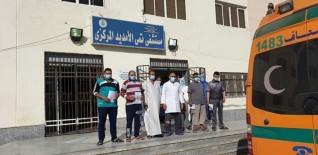 إغلاق دور كامل بمستشفى العزل بتمى الأمديد بعد تراجع نسب الإصابة بكورونا