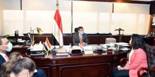 الرئيس التنفيذى لهيئة الإستثمار يلتقى المدير التنفيذي لشركة جنرال إلكتريك في مصر وشمال شرق افريقيا