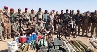 القوات العراقية تعثر على كدس للعتاد شمالي البلاد