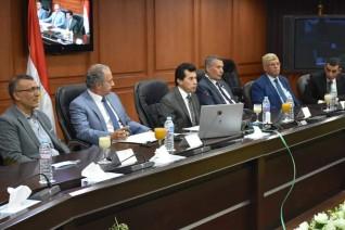 وزير الرياضة يترأس الإجتماع الثاني للجنة العليا لاكتشاف ورعاية المواهب