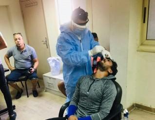 اللجنة الطبية بالجبلاية تعلن سلبية مسحة كورنا لفريق أسوان