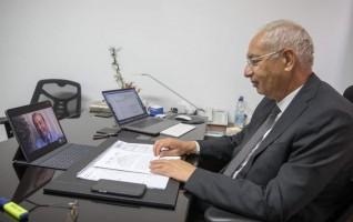 يحيى زكي :  نأمل في إنشاء منطقة برازيلية بالمنطقة الإقتصادية قريباً
