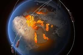 ضعف مفاجئ في المجال المغناطيس للكرة الأرضية