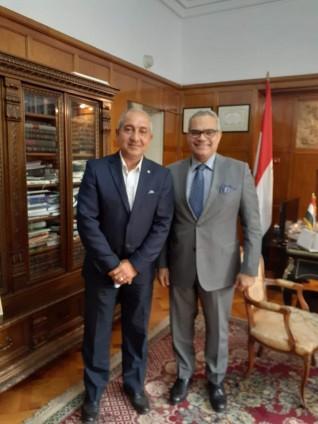 هشام راشد : 750 مليون دولار حجم التبادل التجاري بين مصر ورومانيا