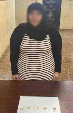 القبض على خادمة سرقت مشغولات ذهبية من شقة فى القاهرة