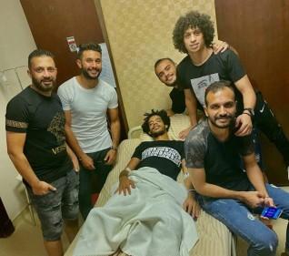 الحسينى سمير لاعب أسوان يخضع لجراحة ناجحة فى الرباط الصليبى