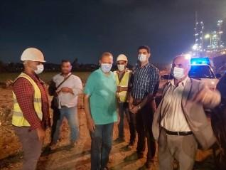 محافظ القليوبية يقوم بجولة مسائية مفاجئة بحي شرق شبرا الخيمة