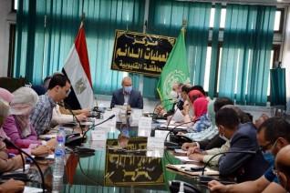 محافظ القليوبية يبحث مع «السوداني» مشروعات المحافظة