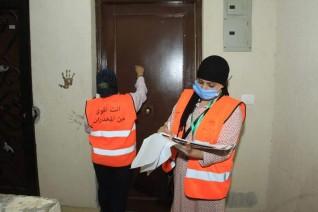 «صندوق مكافحة الإدمان»  يدشن  حملة طرق الأبواب لتوعية أهالى حى الأسمرات