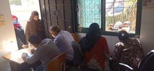 الكشف على 1505 حالة بقافلة طبية بقرية اسمنت بمركز أبو قرقاص بالمنيا