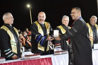 محافظ أسوان يشهد تخريج دفعة جديدة  بالأكاديمية العربية للعلوم والتكنولوجيا