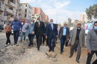 محافظ القليوبية يستقبل رئيس جهاز تعمير القاهرة الكبرى