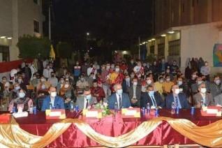 رئيس جامعة الفيوم يشهد حفل استقبال طلاب المدن الجامعية