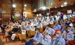 إنطلاق المهرجان الكشفى الجوى السنوى برعاية وزير الشباب والرياضة ومحافظ أسوان