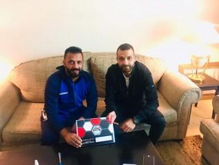 عمرو الحلوانى لاعب حرس الحدود يتعاقد مع أسوان رسميآ