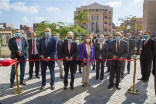 السفير الياباني يفتتح ورشة تصنيع أثاث مدينة طلاب الجامعة اليابانية