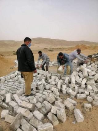 مراكز المنيا تواصل تنفيذ حملات إزالة التعديات على الأراضي الزراعية وأملاك الدولة