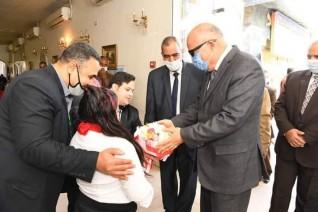 محافظ قنا يشهد الاحتفال باليوم العالمى للمعاق