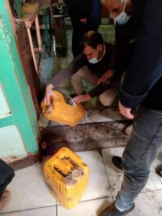 حملة تفتيشية على 22 منشأة غذائية وإعدام 200 كيلو أغذية فاسدة بالمطرية