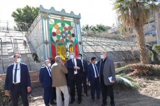وزير الزراعة يتفقد حديقة «الزهرية» بالزمالك ويوجه بتطويرها