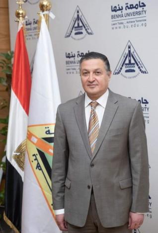 جامعة بنها تهنئ جمال السعيد لتعيينه عضوا بمجلس النواب