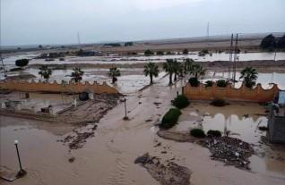 السيول تضرب مدينة رأس سدر وأصحاب القرى يستغيثون بالمحافظة