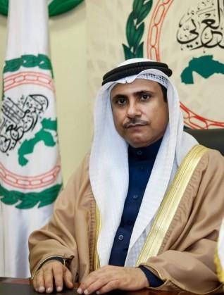 رئيس البرلمان العربي يدين الاعتداء الإرهابي الذي استهدف مطار أربيل بالعراق