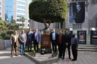 مصر تهنأ روسيا بمناسبة اليوم الدبلوماسي الروسي