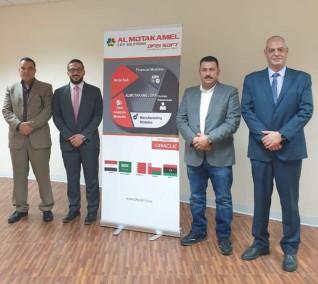 رئيس مجلس إدارة جمعية رجال الأعمال المصريين العمانيين يزور شركة أوفيس سوفت