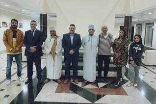 لقاء تشاوري بين الجمعية العمانية للسينما والمسرح وجمعية رجال الأعمال المصريين العمانيين