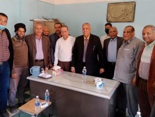 رئيس مطاحن مصر العليا يشيد بالعاملين في تأهيل مطحن فرشوط قنا