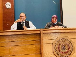 """ندوة توعوية بعنوان """"الإرهاب الرقمى وسبل مواجهته """" بمركز النيل للإعلام بالسويس"""