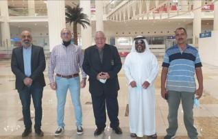 """""""فهيم"""" في الإمارات لأفتتاح بطولة عجمان الاولي لبناء الاجسام و٤ كروت احتراف هدية الاتحاد الدولي للبطولة"""