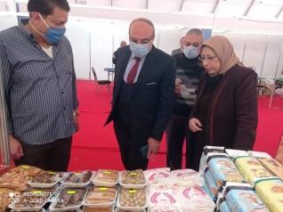 سعدالله يتفقد التجهيزات النهائية لافتتاح معرض اهلا رمضان بالاسكندرية