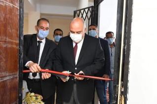 محافظ قنا يفتتح المركز التكنولوجي المطور للخدمات التموينية بقرية الأشراف