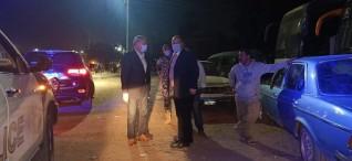 محافظ القليوبية يقوم بجوله ليلية مفاجئه بشوارع مدينه بنها لمتابعة رفع الا٦شغالات والنظافة