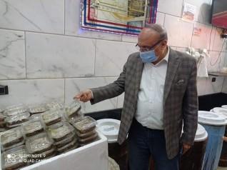 سعد الله يقود حملات مكبرة على أسواق الاسماك المملحةاستعدادا لأعياد الربيع