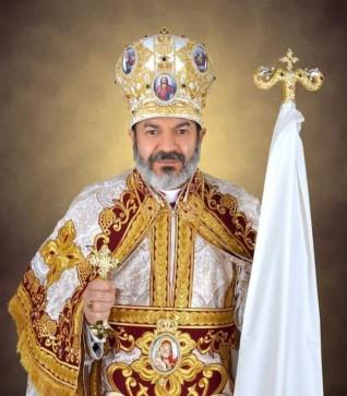 الأنبا توما حبيب يهنئ الآباء الكهنة بعيد تأسيس سر القربان المقدس