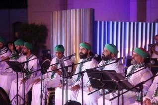 تجليات روحانية للحضرة الصوفية على مسرح النافورة