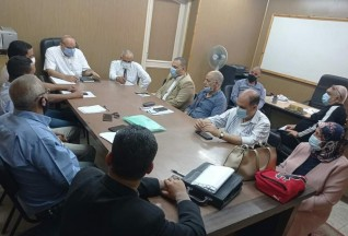 سعدالله يلتقي بمديري الإدارات التموينية ويشدد علي تكثيف الحملات خلال إجازات العيد