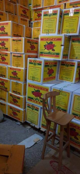 تموين الإسكندرية يتحفظ علي 83 ألف عبوة شاي ونسكافية بمخزن غير مرخص بالعامرية
