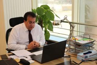 وزير التعليم العالي يتلقى تقريرا حول نتائج اجتماع مبادرة الحزام والطريق