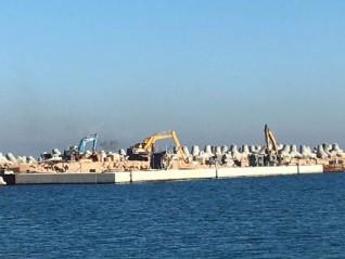 وزارة الرى تواصل تنفيذ العديد من المشروعات الكبرى التى تهدف لحماية السواحل المصرية