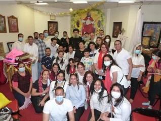 الانبا سيداروس اسقف عام عزبة النخل يزور  مستشفي 57357 للاطفال